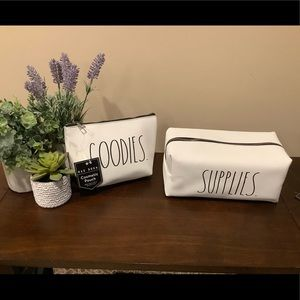 Rae Dunn GOODIES & SUPPLIES Cosmetic Bags 💄